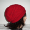 Crochet Slouchy Hat, Beanie, Red Slouchy Hat, Adult,Unisex,Teens Hat