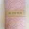 Pink Damask Cotton Fitted Cot Sheet