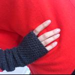 Gloves, Fingerless Mittens, Crochet Mittens,  Wrist Warmers, Crochet Gloves