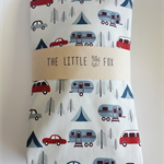 Gone Camping Fitted Cot Sheet