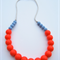 Silicone Teething Necklace Blueberry & Guava
