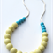 Silicone Teething Necklace Apple & Sea