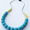 Silicone Teething Necklace Sea & Apple