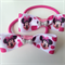 Disney Minnie Mouse Pink Bow Hair Elastic Ties (2 Pack)