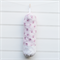 Plastic Bag Holder - Pink Floral with White Leaves - PBH062 - Grocery Bag