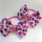 Minnie Mouse Hair Bow Elastic Ties 2 pack