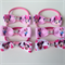 Minnie Mouse Fan Pack Hair Bow Elastic Ties