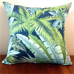 Tropical Frond Cushion
