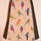 Birds & denim A line skirt
