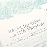 Printable Custom DIY Wedding Invitation, RSVP and Wishing Well Suite - Elegant L
