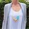 9 bead Cleo Gumball Necklace -  Silicone Teething Necklace
