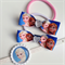 Frozen Elsa Boutique Hair clip and Hair Tie Princess Christmas Gift Set