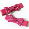 Super Sweet Pair of hot pink and white polka dot bows.