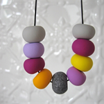 Polymer Clay bead Necklace
