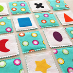 Fabric Memory and Bingo Game