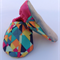 Geometric Print Baby Shoes