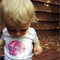 Personalised Pink Poppy Onesie // Flower // Baby Clothing Baby Shower Present