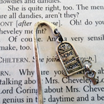 Silver Plated Bookmark with Home Sweet Home Charm - Lovely Little Gift!