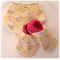 Pink and Yellow Cat Baby Shoes & Bandanna Gift Set