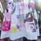 Girls Reversible Skirt French Journal Size 6