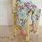 """Circa"" Modern Harem Pants (0000-1) Newborn  Modern, floral, pretty, pink, blue"
