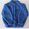 Baby Boys Blue Cardigan to fit size 3 to 6 months.