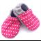Pink Flamingo Print Baby Shoes
