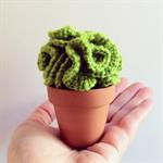 Crochet Lettuce Cactus