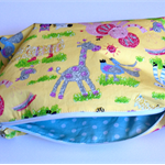 NAPPY WRISTLET PURSE BAG / TOILETRIES BAG