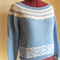Lovely Gemma Wide Neck Yoke Jumper - S/8