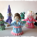 6 Fairy Tale Finger Puppets