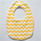 BUY 3 GET 4th FREE Yellow Chevron Bib