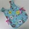Baby Girl Apron - Little Cutie - infants lined smock/bapron/bib/pinafore apron