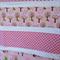 Girls Pink Cot Quilt Blanket - Forest Animals