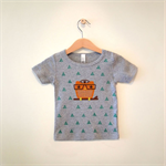 Bearly Curious Tshirt (0-24mths)