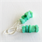Spring Green Chip Earrings