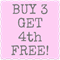 BUY 3 GET 4th FREE Leopard Print Bib