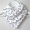 BUY 3 GET 4th FREE Bandana Dribble Bib Navy Anchors