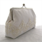 Bridal Clutch Series: White Beads (Seconds)