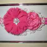 Baby Headband in Hot Pink
