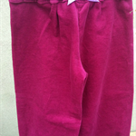 Size 4 Girl's Harem Pants Dark Pink Cord