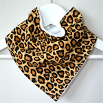 BUY 3 GET 4th FREE Bandana Dribble Bib Leopard Print