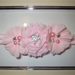 Baby Headband in Pale Pink (0-6 months)