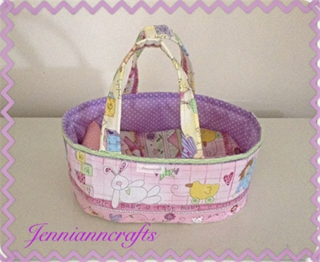 Doll Carry Cot/Basket