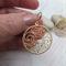 14kt Twisted Gold Pendant Earrings