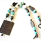 Ella Copper, turquoise and glass Statement Necklace by Sasha and Max