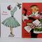 Vintage Dress Christmas Gift Tags x 8