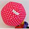 Balloon Ball Cover - Great present, basic range, Red with white stars