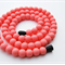 Silicone Teething Necklace Soft Pink