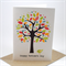 Happy Mothers Day Card - Large Summer Garden Tree with Bird - HMD003